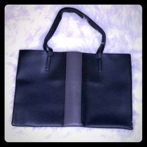 Vince Camuto Black Luck Tote